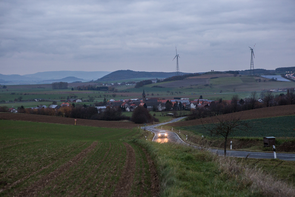 Ostheim is town near the city of Kassel in Hesse state in Germany. At the moment this small town has received 15 syrian refugees, housed in two apartments.