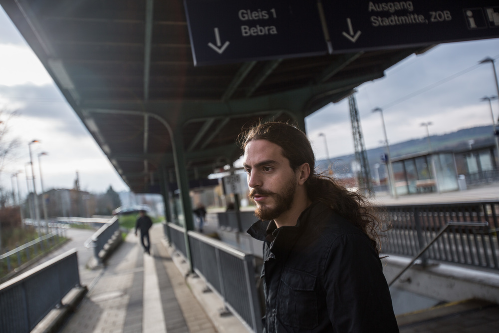 The German government gives Yazan €270 for expenses, until his asylum process is completed and he can have a job. The apartment and services are covered, but one of Yazan concerns is the transport fees to Kassel the nearest city.