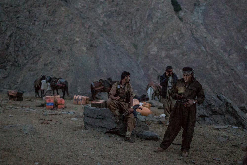 Smuggling Through Iraq-Iran Border