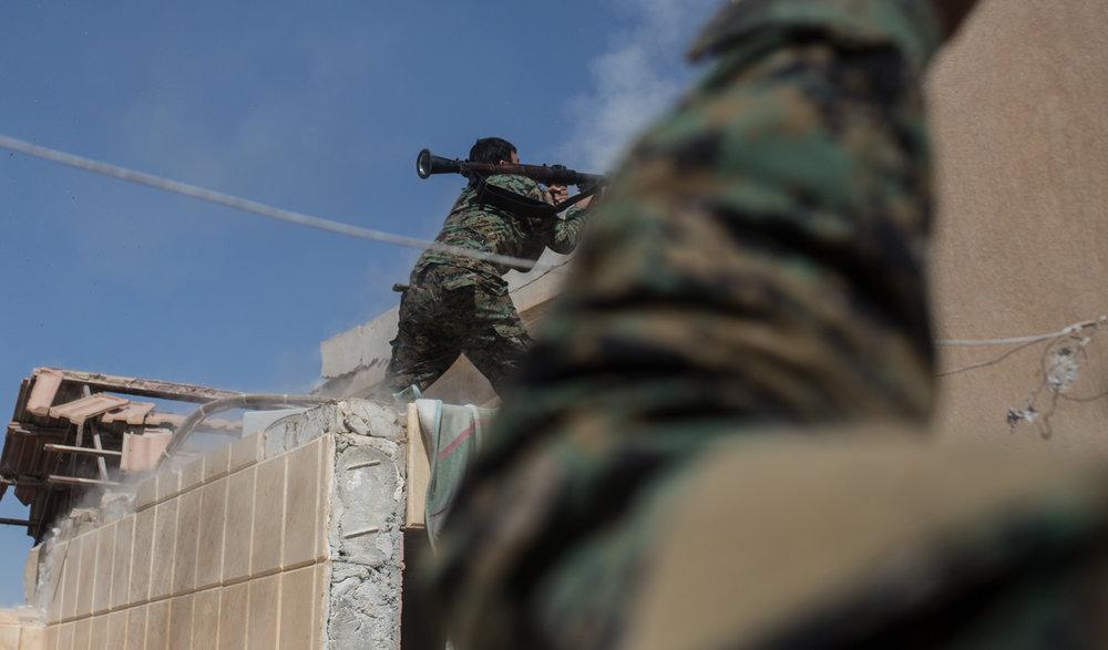 Final Days of Raqqa Battle