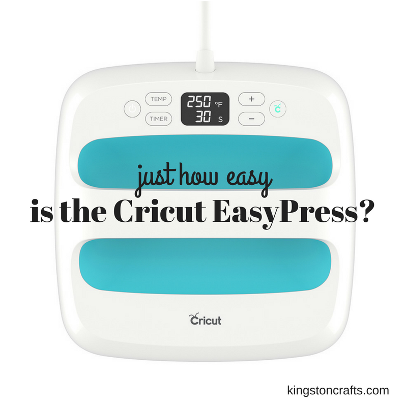How Easy is the Cricut EasyPress
