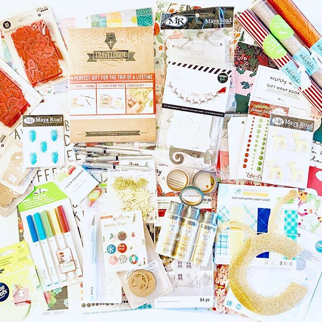 I'm sharing some of my craft room stash today in this awesome giveaway!! Yay for all the stuff! 🎉 . You could win all the items pictured (or a craft room stash box from one of my friends) - here is how to enter: (1) Make sure you are following me. (2) Make sure you are following all of the giveaway hostesses (listed below). (3) Each hostess is giving away a box of goodies - comment on each photo you are interested in winning, and tag up to 5 of your friends in individual comments for extra entries on each photo. Entries close at Midnight, EST on Friday, January 11th. Winners will be notified on Saturday and have 24 hours to respond. Each hostess will be selecting a winner from the comments on her post. Giveaways may have regional differences, mine is open to the US and Canada. Your fab hostesses are: . . @craftmoore  @seelindsayblog  @steph_crafting_rain  @30MinuteCrafts  @countrychiccottage  @kingstoncrafts  @tisascreations @pineapplepapercompany @jgoodedesigns