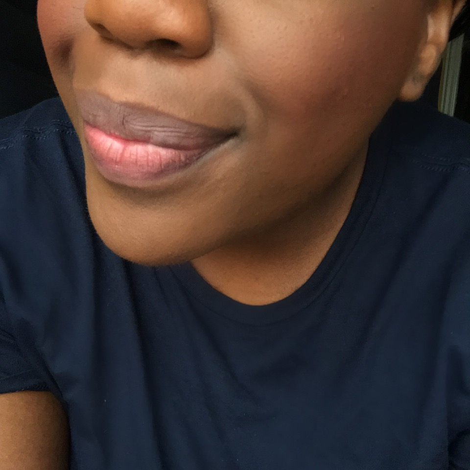 I have fallen for their baked blush line because the shades are on point! It is a great mixture of copper and red with a nice finish. The shade I am wearing is called 'toasted almond'