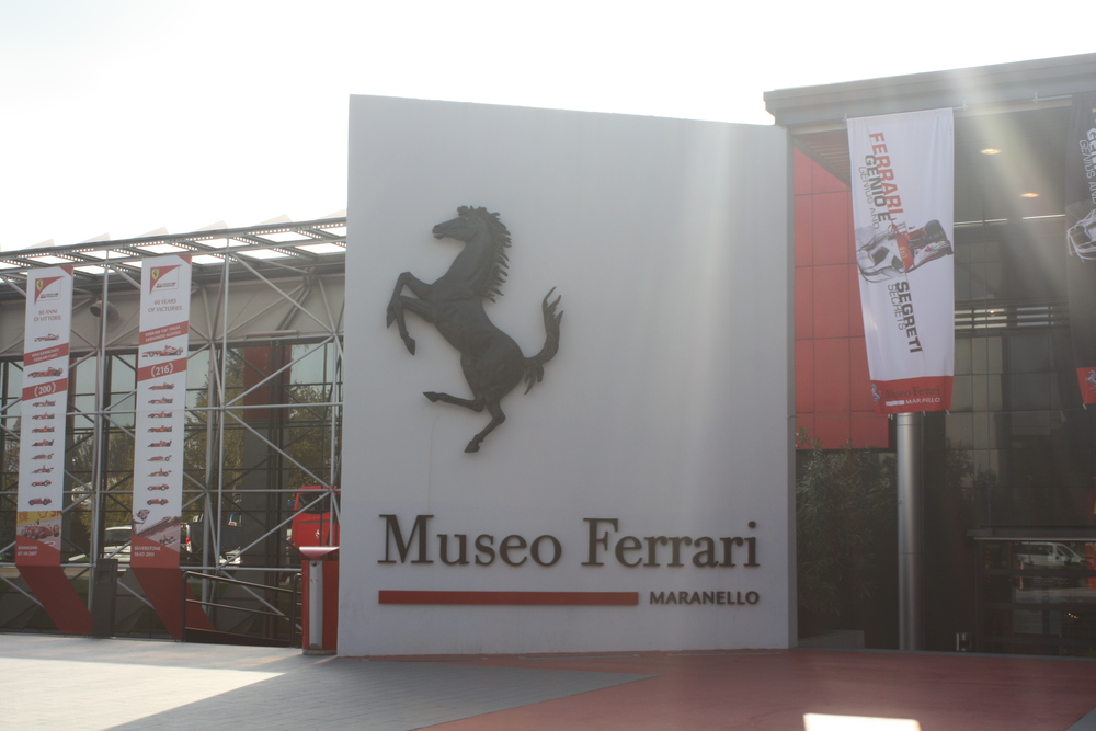 Ferrari in Maranello