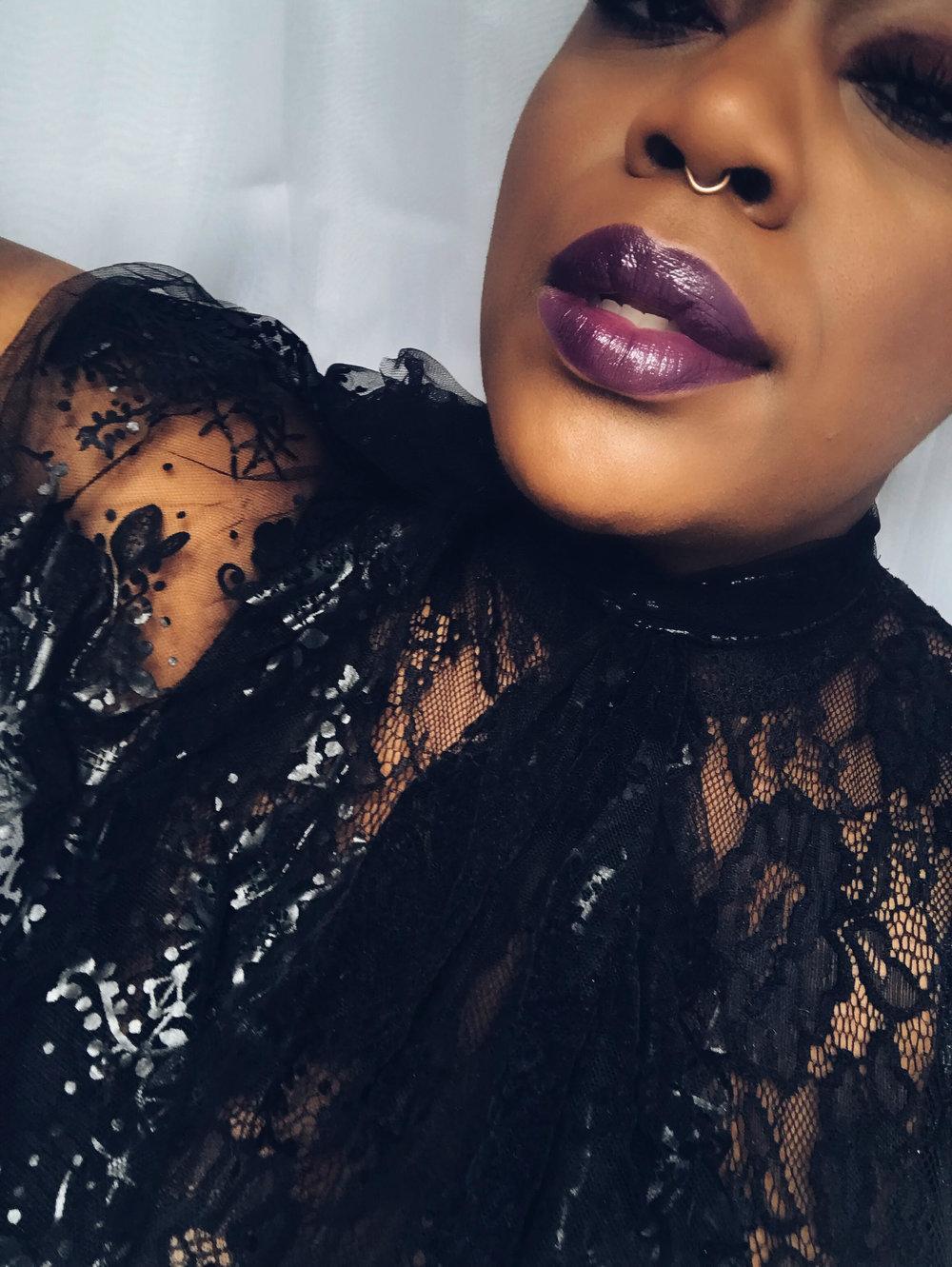 INTENSE BUTTER GLOSS: BLACK CHERRY TART