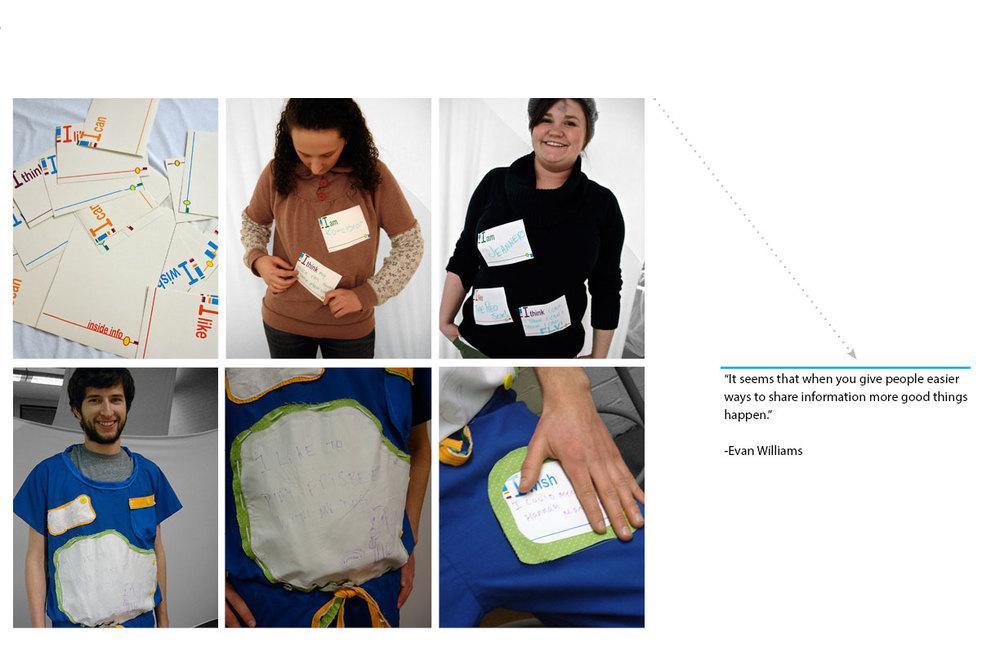 Design Experiment: Wearable Communication