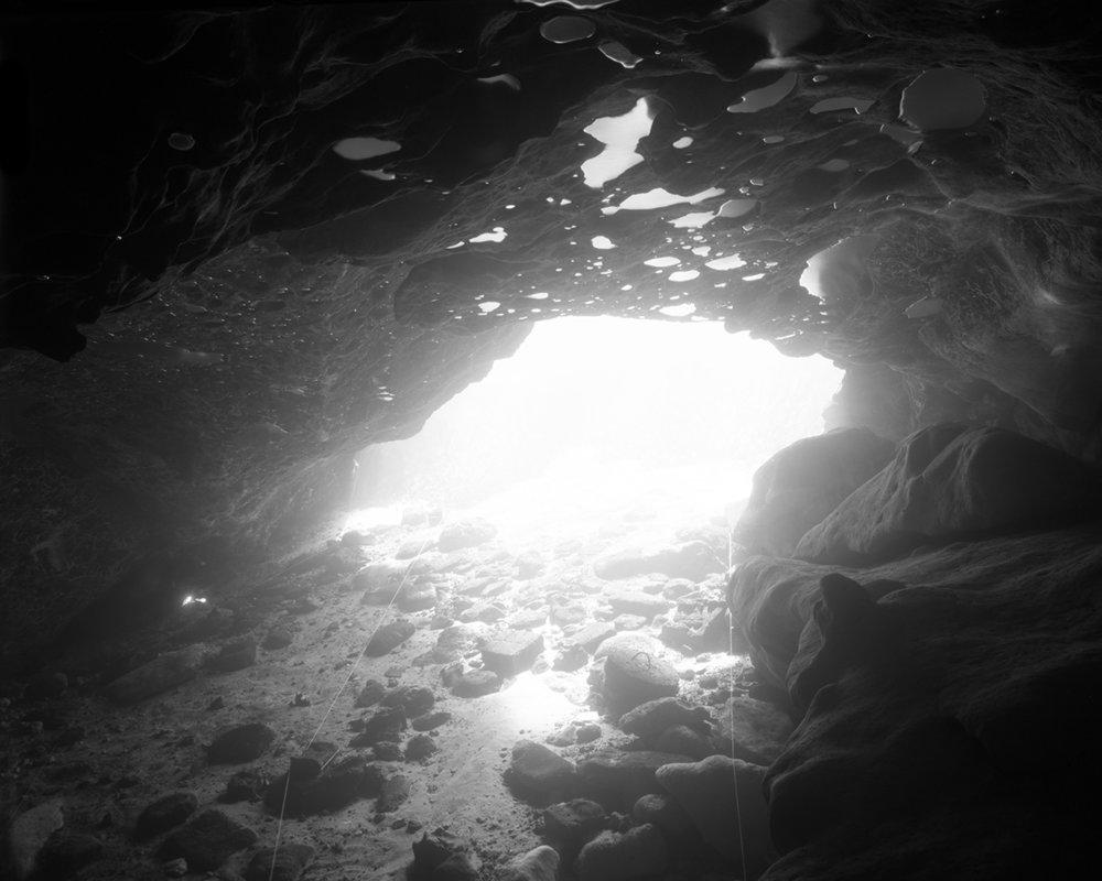 "N30°47' 25.85""  W85°08' 24.31""  22' 14:30 19°C 3 min  Selenium toned  Silver Gelatin Print  2017"