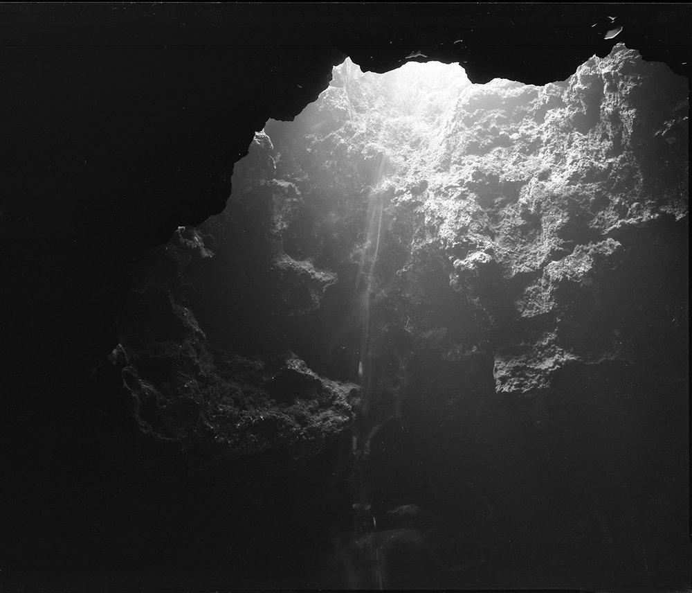 "N29° 58' 47.735""  W82° 45' 30.458""  24' 14:27 20°C 2 min  Selenium toned  Silver gelatin print  2017"