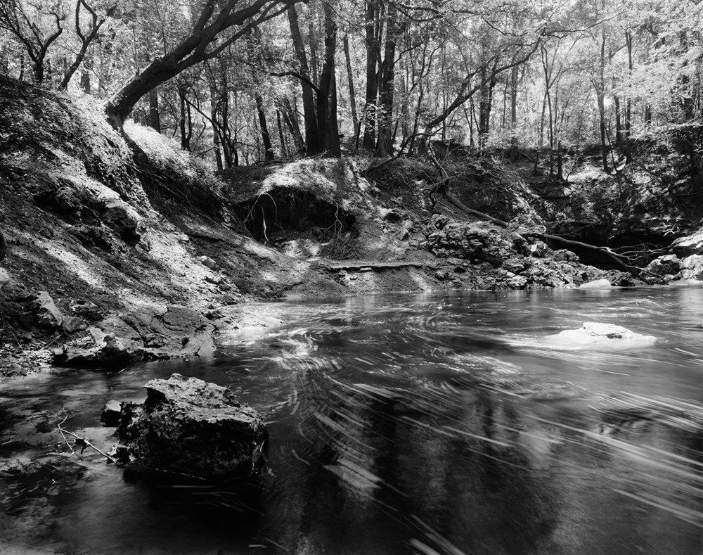 Dead River 2  Silver gelatin