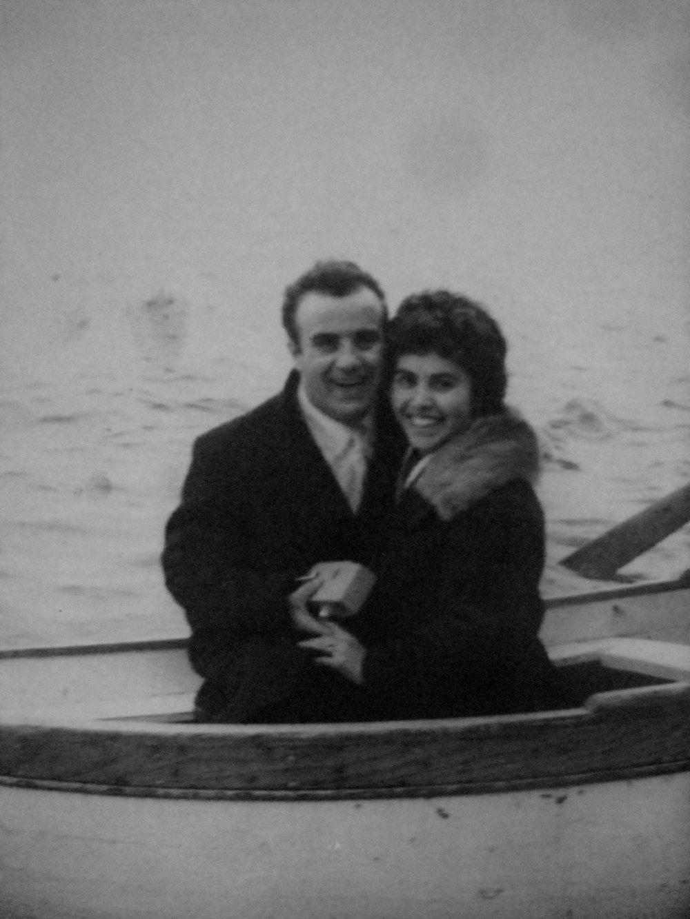 Angelino and Giovanna Primavera, 1960's