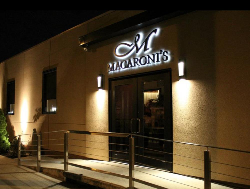 Macaroni's new entrance, 2012