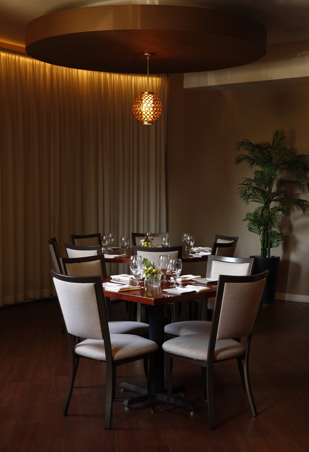 Macaroni's updated dining room went from 9 tables to 120 seats.