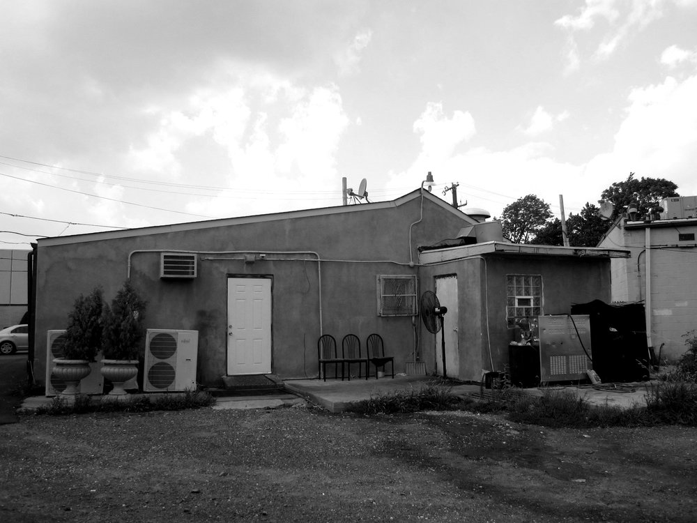 Rear of Macaroni's before 2011