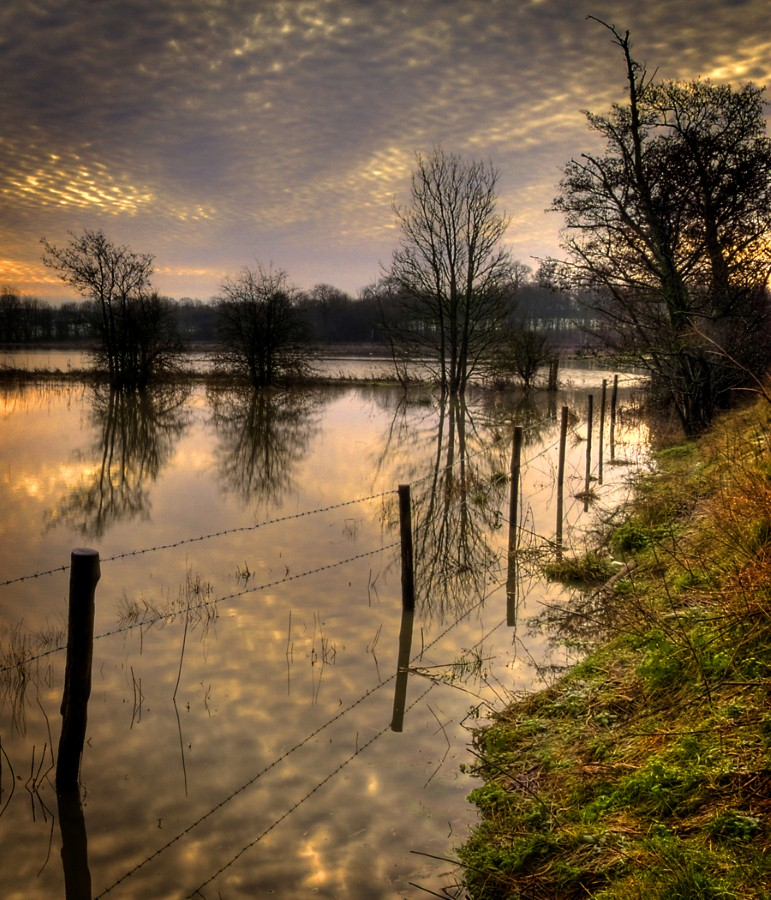 FLOODING BY THE ROTHER by Nick Chillingworth.jpg