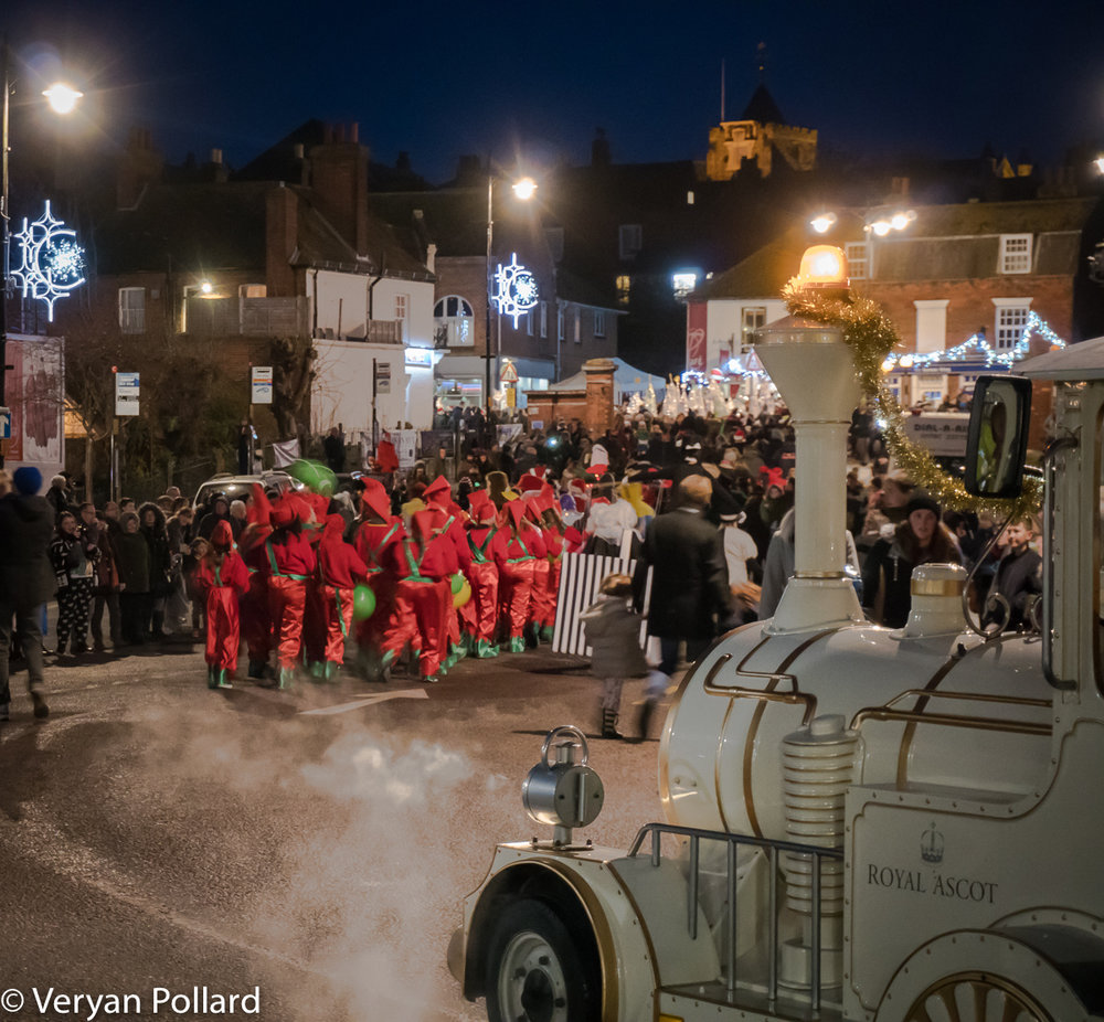 Christmas In Rye 2017 By Veryan Rollard