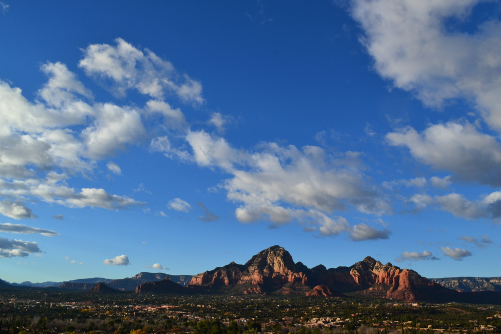 View of Sedona from the Airport Vortex
