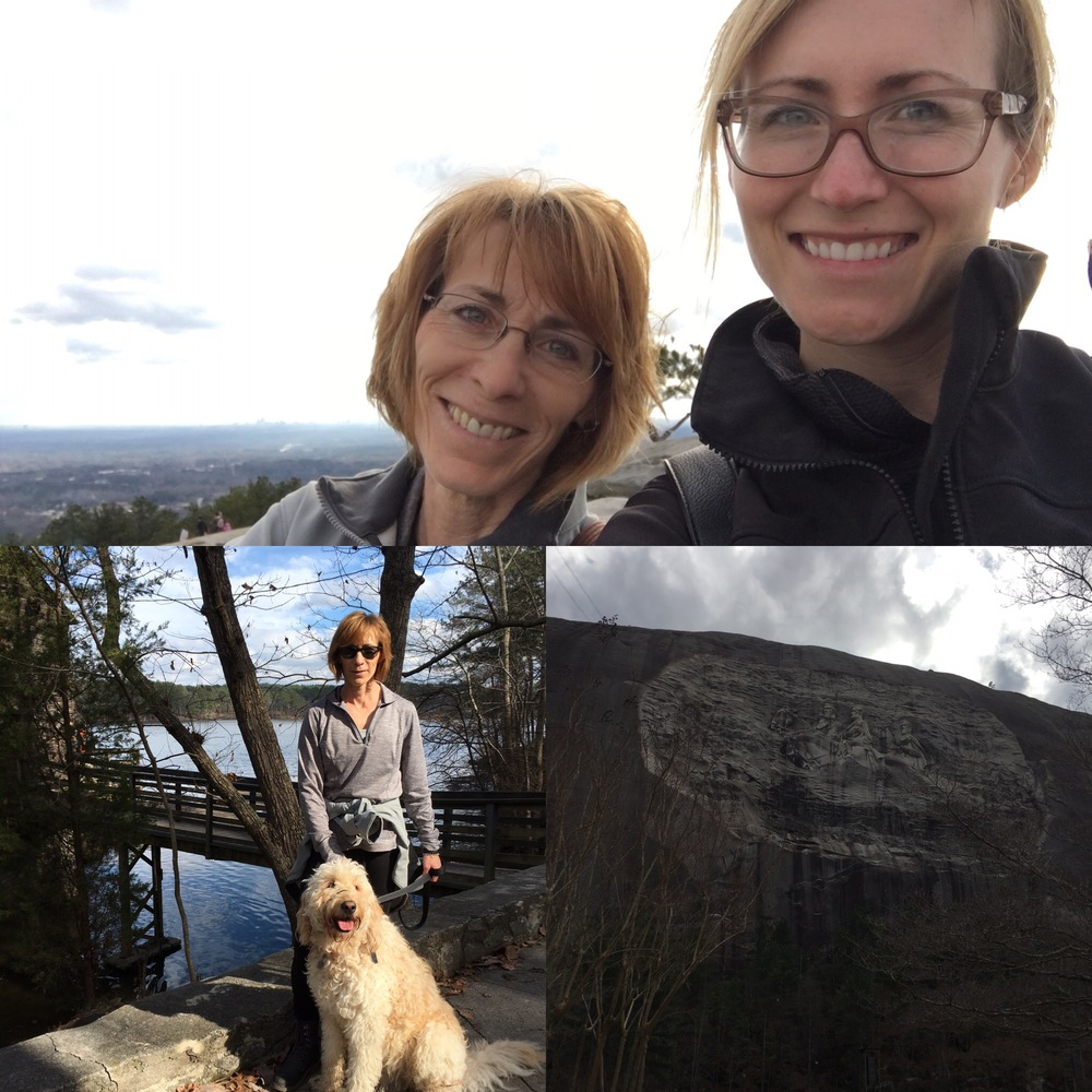 A few highlights from our day at Stone Mountain Park.