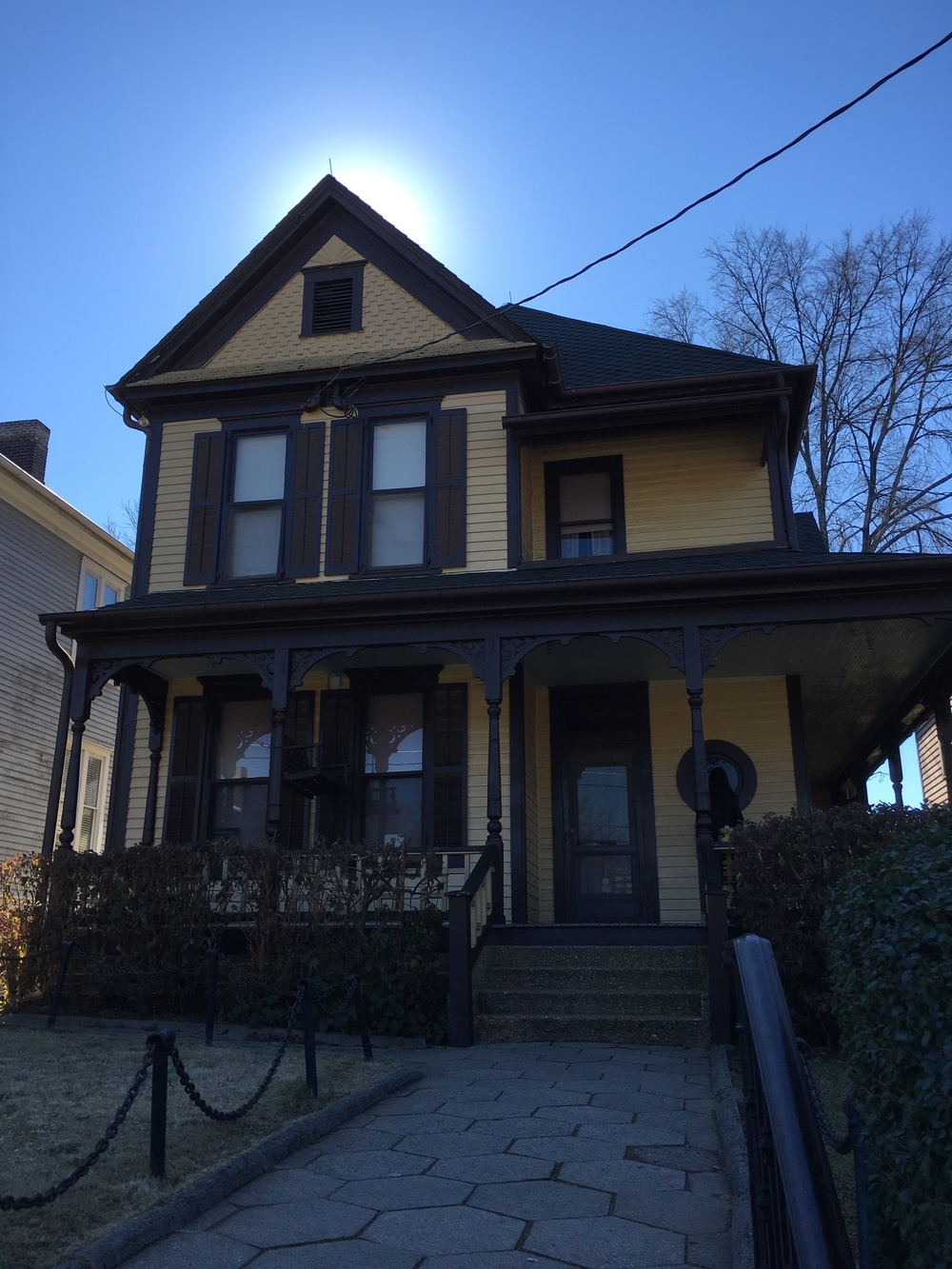 Martin Luther King Jr.'s birth home in the Sweet Auburn neighborhood.