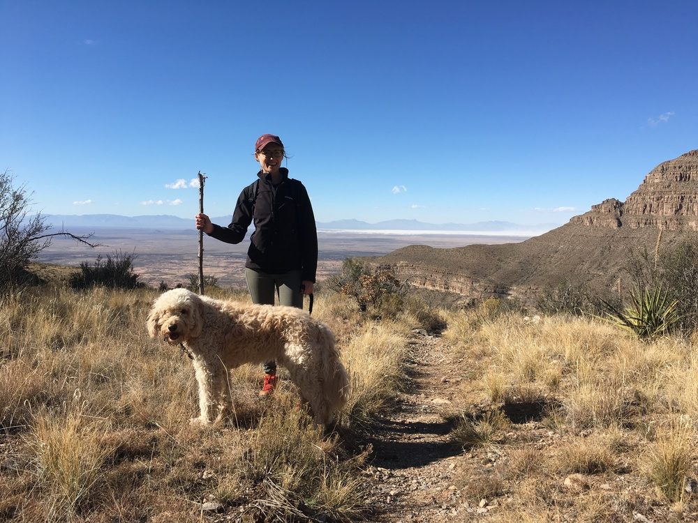 We loved the Dog Canyon trail at Oliver Lee Memorial SP in New Mexico.