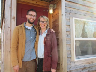 Photo taken on the set of Tiny House Hunters.