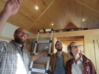 We take a tour of another tiny home on Tiny House Hunters.