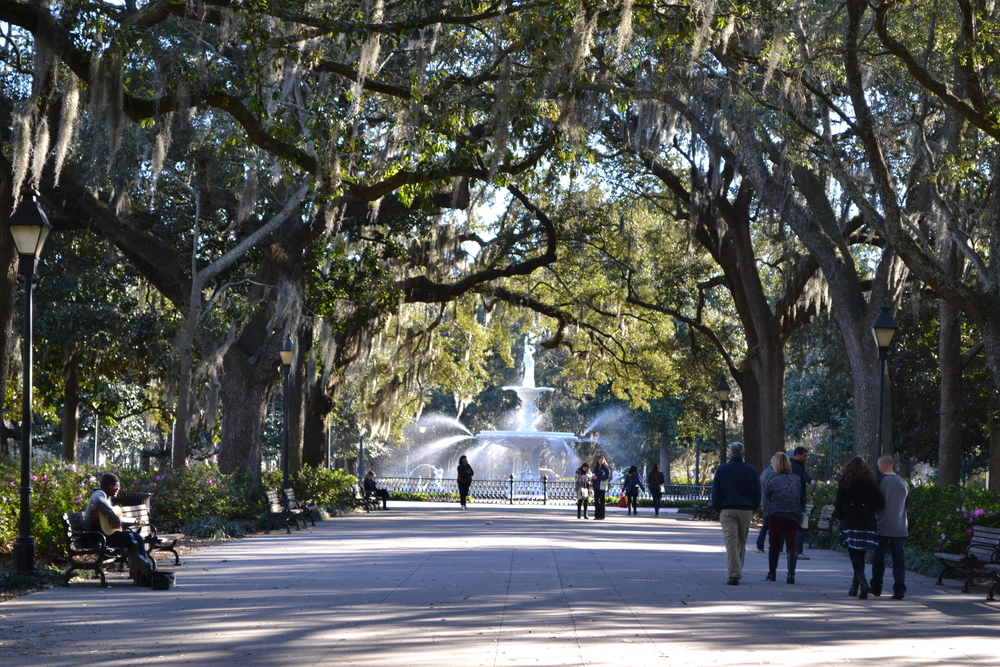 Forsyth Park, Downtown Savannah