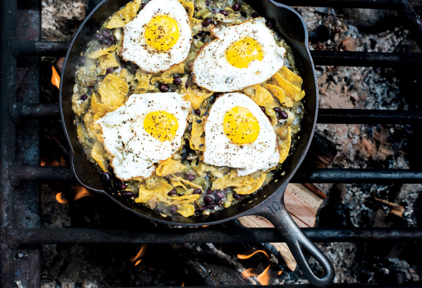 25 Campfire Meals to Keep You Well-Fed in the Great Outdoors via bon appetit.