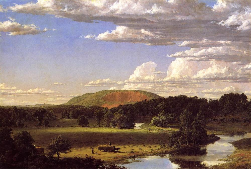 West Rock, New Haven , Frederick Edwin Church, 1849