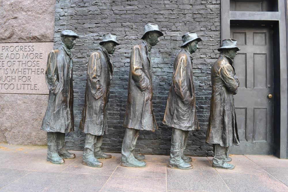 FDR Memorial.