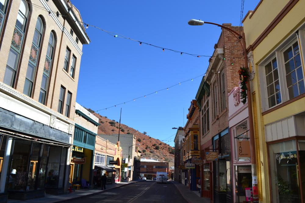 Downtown Bisbee, AZ.