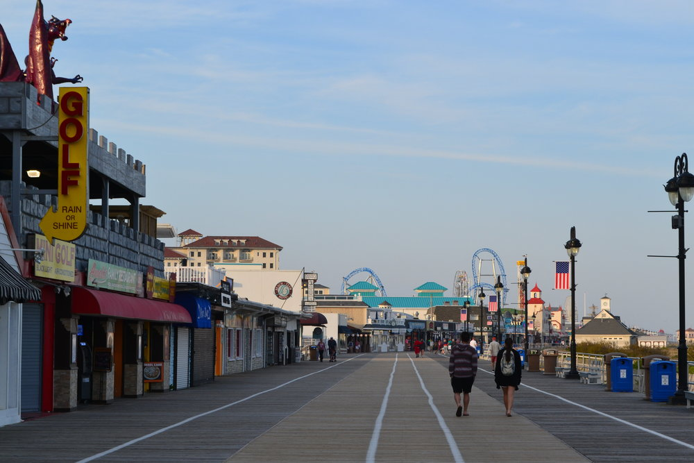 The Boardwalk at Ocean City.