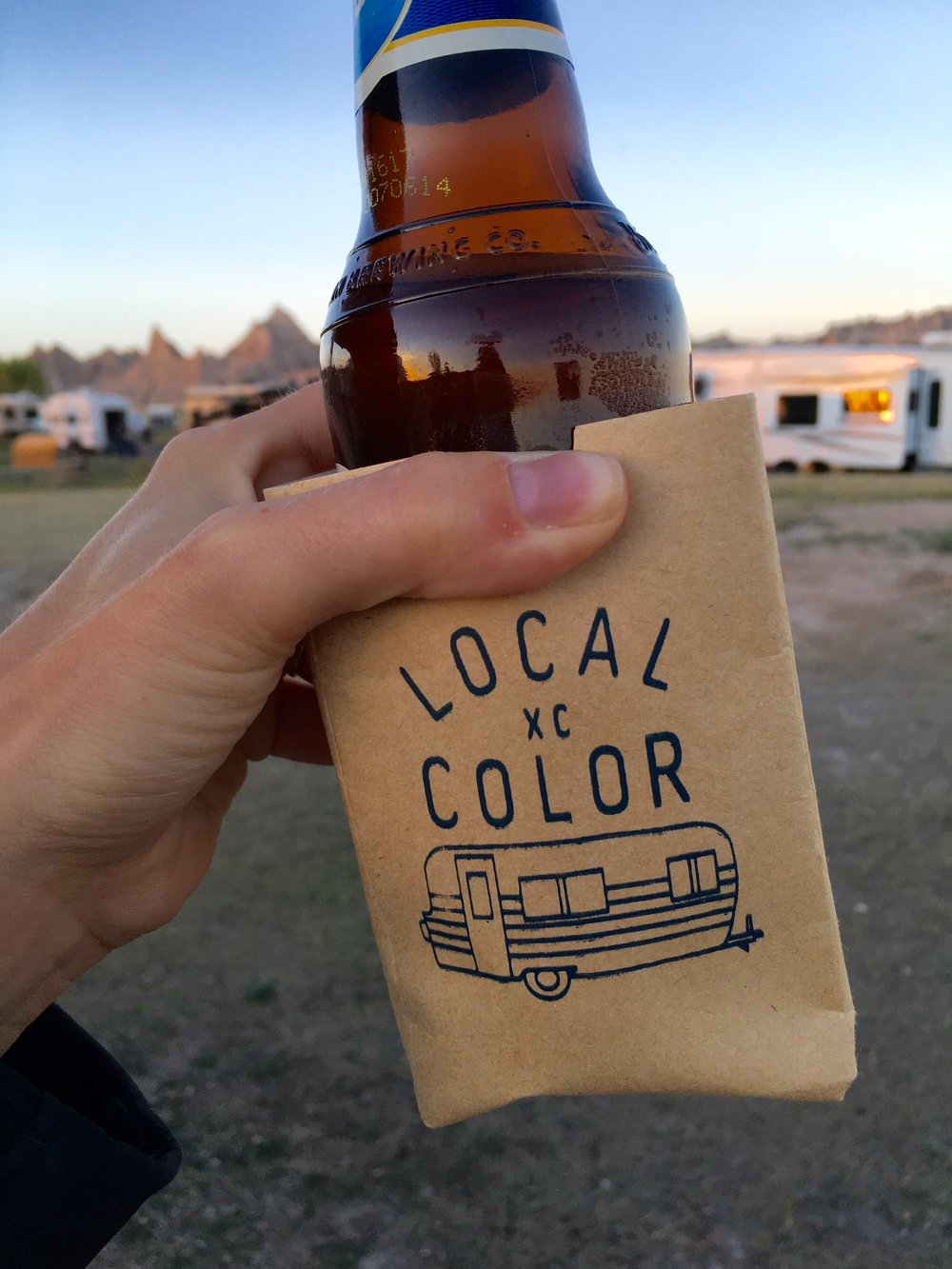 Local Color XC Cozie | Fits Most 12 Oz Cans and Bottles
