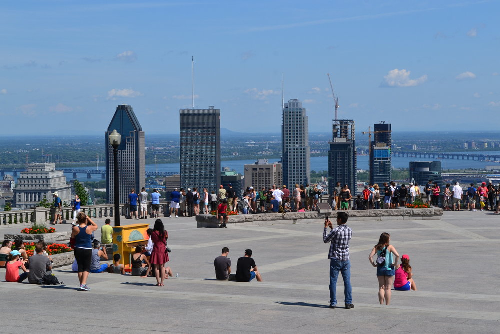 Mont Royal outlook.