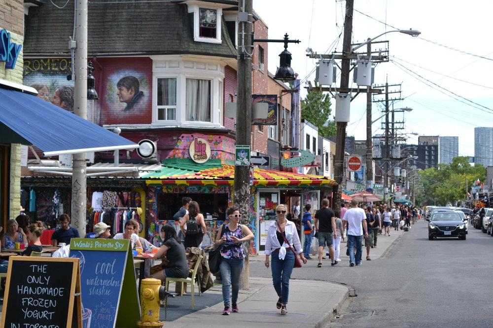 Kensington Market in Toronto.