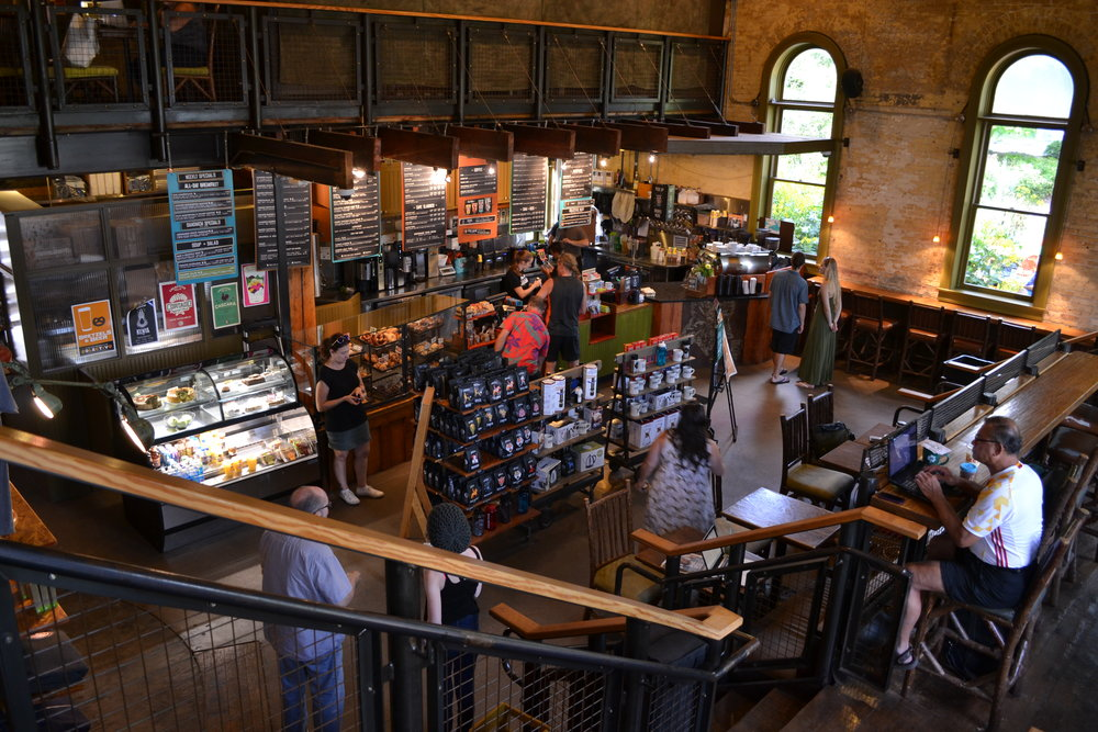 Colectivo, a cool local coffee shop with locations across the city.