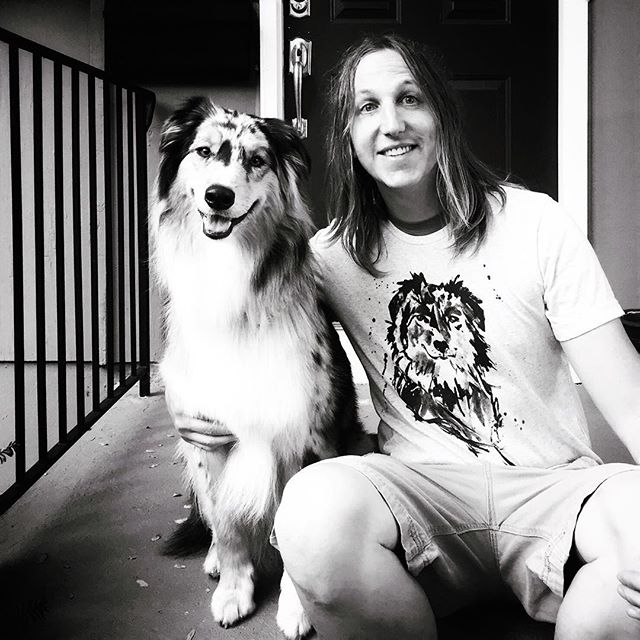 "Happy birthday to our very own @dear_ghost 👻🎂🎃🐾!! Your life has changed ours for the better and continues to inspire us to help other pups just like you find their furever home. Happy ""21st"" We love you! #goodgirl#rescuepup#aussiesofinstagram#australianshepherd#australianshepherds#aussies#aussie#3171025#🍖"