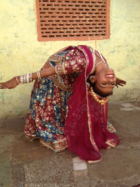 Learning to dance, Jaipur style
