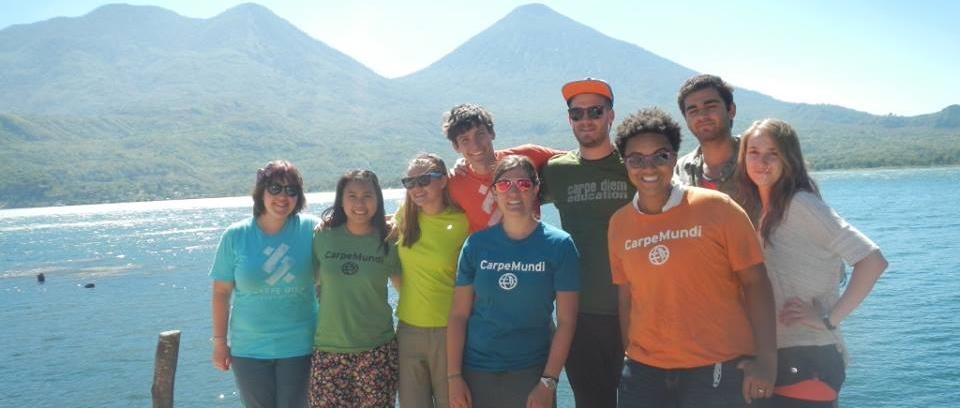Carpe Mundi Students in Nicaragua Spring 2015