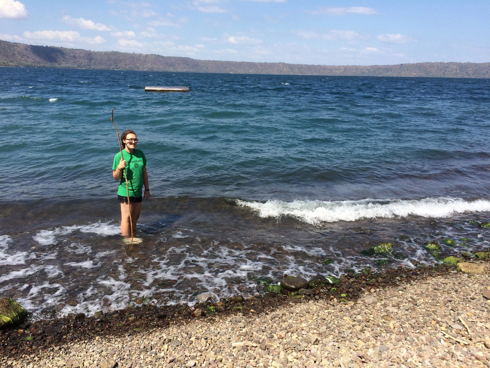 Laguna de Apoyo, a fun weekend trip for swimming and sunbathing!