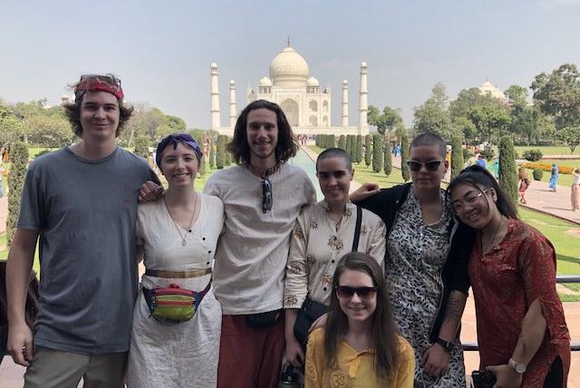Shanti and the Taj Mahal!