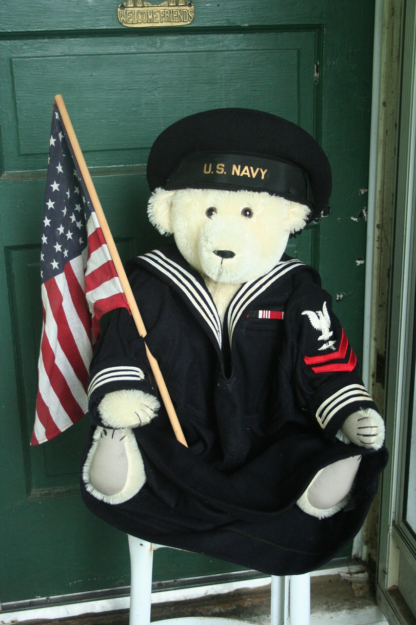 vintage sailor's uniform