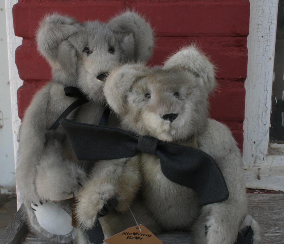 2 custom bears, 2012.jpg