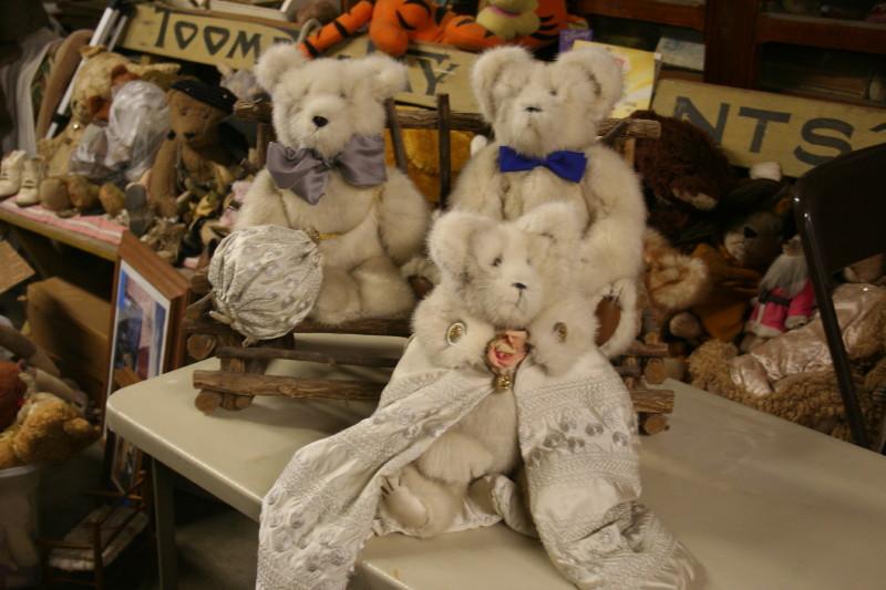 caron's bears made from caron's coat