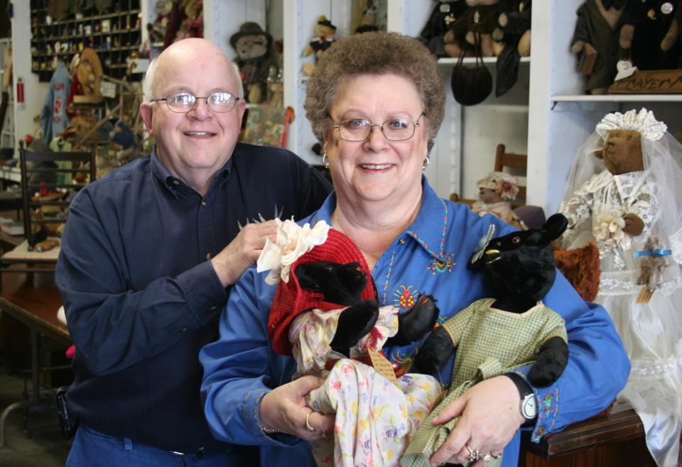So I just had a great visit with a lovely couple who came into the shop looking for great teddy bears. That is what we do. But usually it takes a while to pick one out and that gives you time to visit. Dorsey and I were talking while his wife Jo looked at the bears. He had a denim shirt that had 3 Bugs Bunny images embroidered on it. I complimented him on it. He told me it came the Warner Bros. store in the Twin Towers. He said his daughter had sent it to him and she had sent him many items from that store. Then he told me that she had lost her life there the day the towers came down. she was vice-president of a large insurance company. She was 34 years old and six months pregnant. We visited a long time. They told me about their journey from what I guess you could call the dark back to the light. Their faith, their outlook, the kindness they showed was the real deal. I am thankful to the Good Lord for sending them by my way. It was a day and a story i won't soon forget.