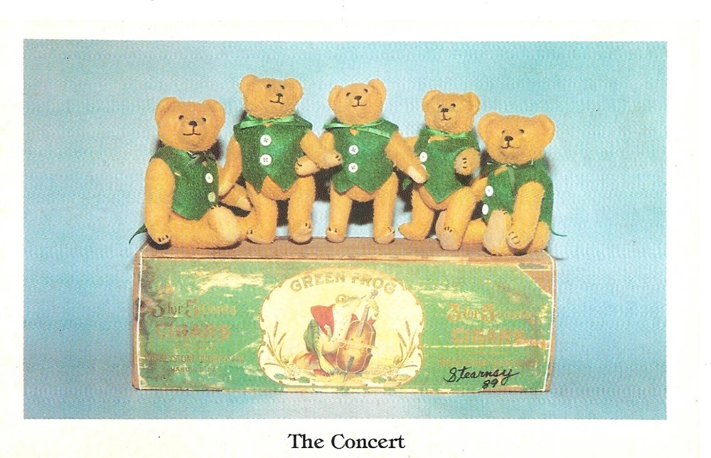 Stearnsy Bear Postcard. 1989.