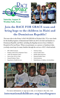 Large Race for Grace Poster
