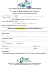 R4G Sponsorship Form