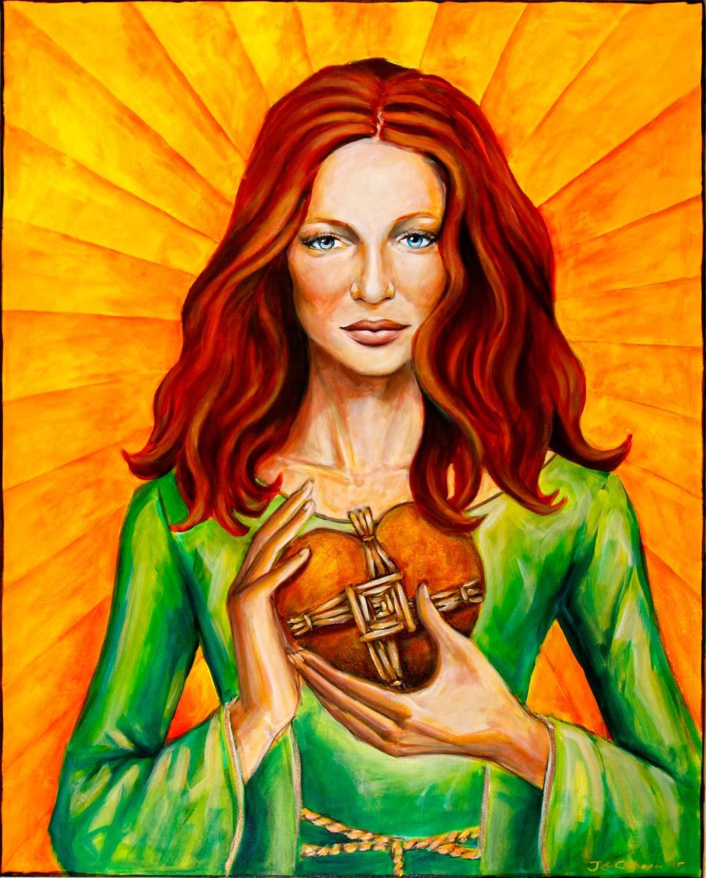 Bridget's Sacred Heart