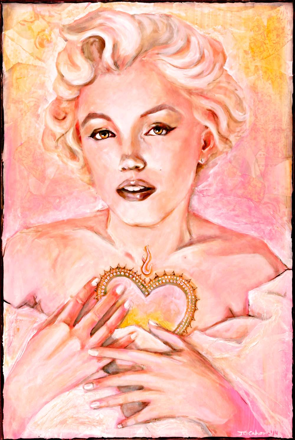 Marilyn's Sacred Heart