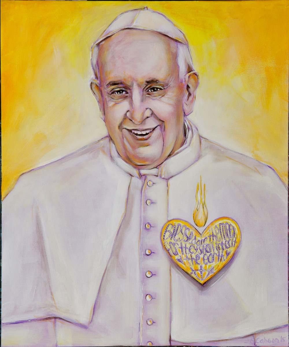 Pope Francis' Sacred Heart
